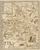 Карта Московии 1593 г.